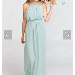 NWT show me your mumu sage Amanda maxi dress